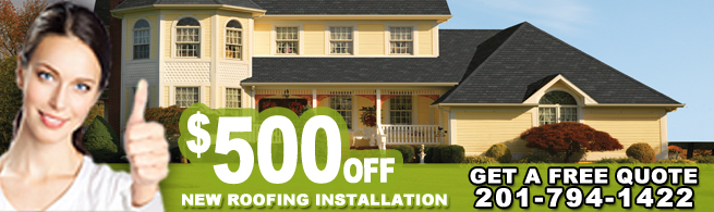 Roof Installation in Bergen County, NJ - Banner