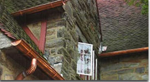 Copper gutter systems
