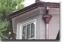 Copper gutters installations