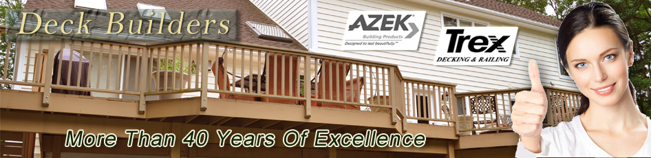 Deck Builders in Chester, NJ - banner